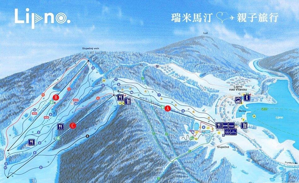 Lipno 滑雪場