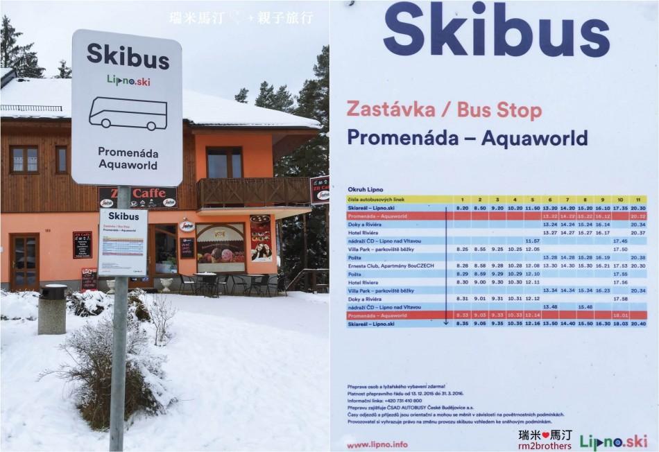 Lipno Ski Bus