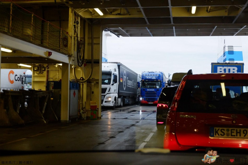歐洲跨國渡輪臥鋪 Finnlines