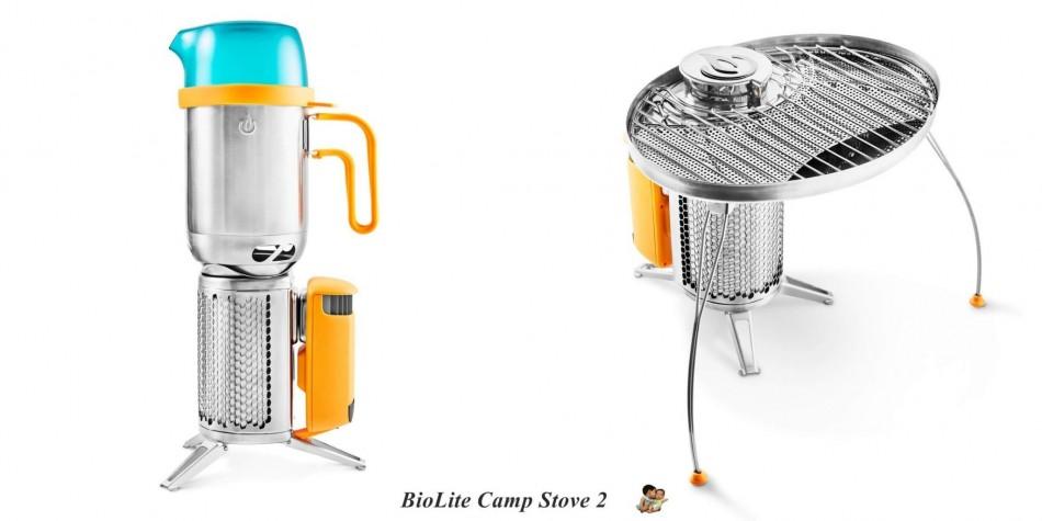 露營材爐發電