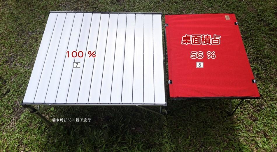OutdoorBase 納米鋁合金輕量桌露營桌