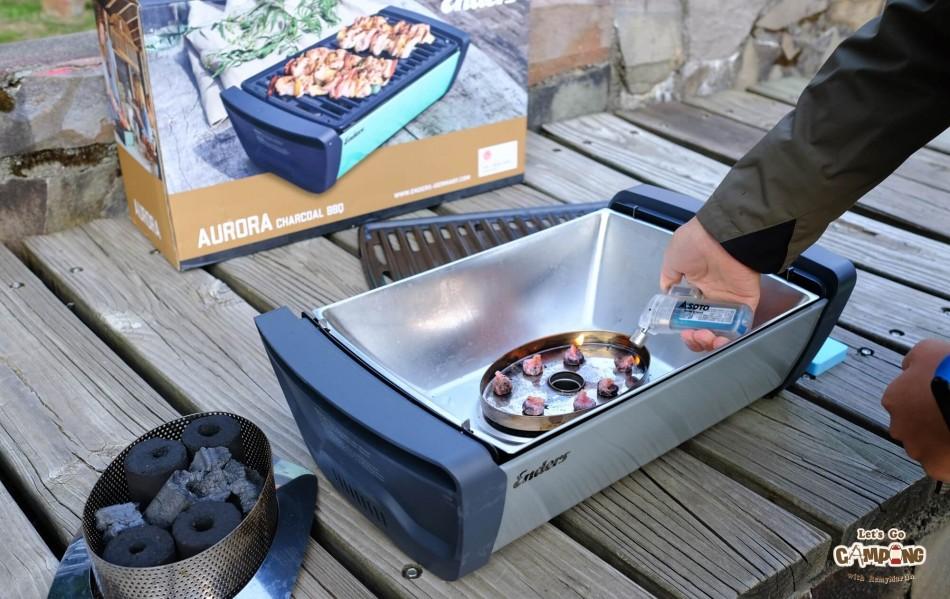 Enders Aurora 桌面式木炭烤肉爐